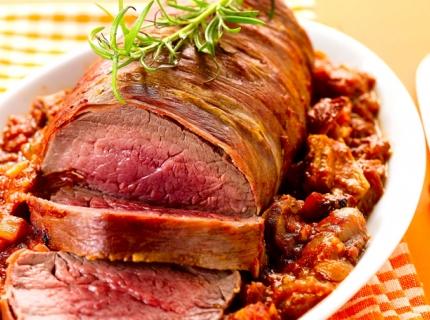 Rôti de bœuf à la basquaise