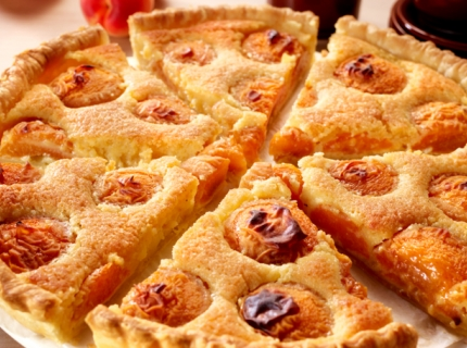 Tarte frangipane aux abricots