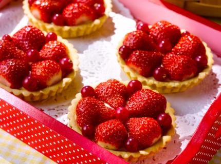 Tartelettes express aux fraises
