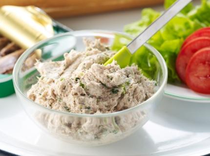 Sandwichs aux rillettes de sardines