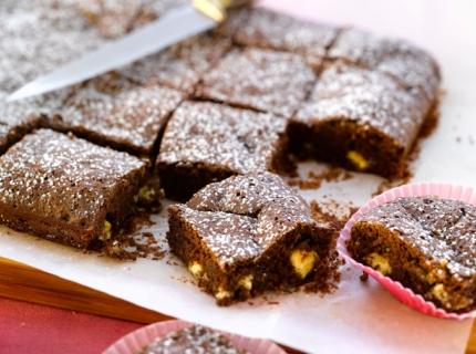 Brownies aux deux chocolats