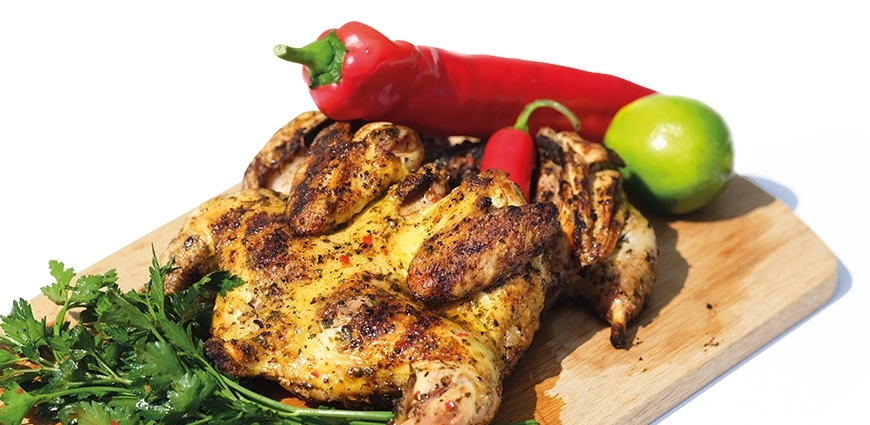 Poulet à la sauce portugaise