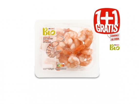 crevettes (couronne ou croustillantes), gambas...