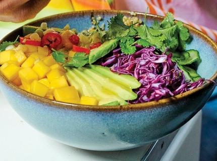 Buddha bowl californien au quinoa
