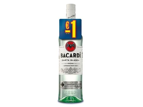 Rhum blanc Bacardi