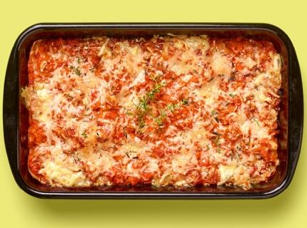 Lasagne veggie à l'aise en 30 minutes + 30 minutes de cuisson