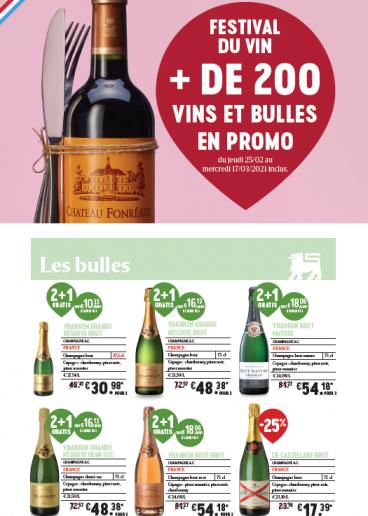 Festival du vin - Listing