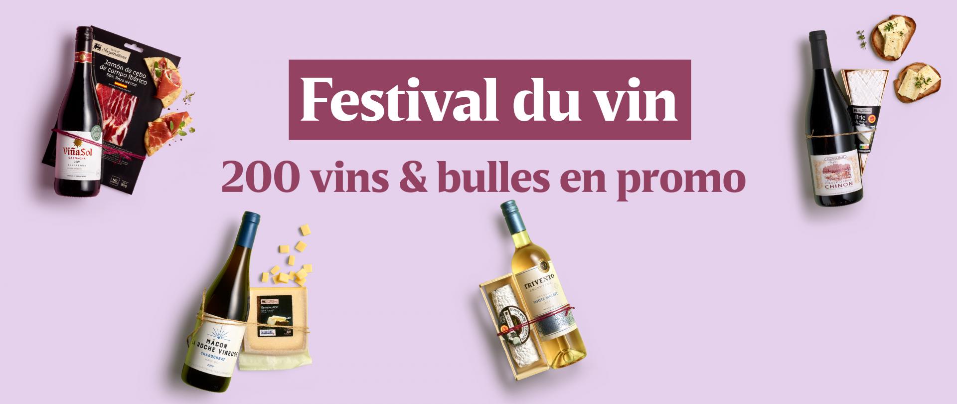 Le Festival du vin débarque en magasin !