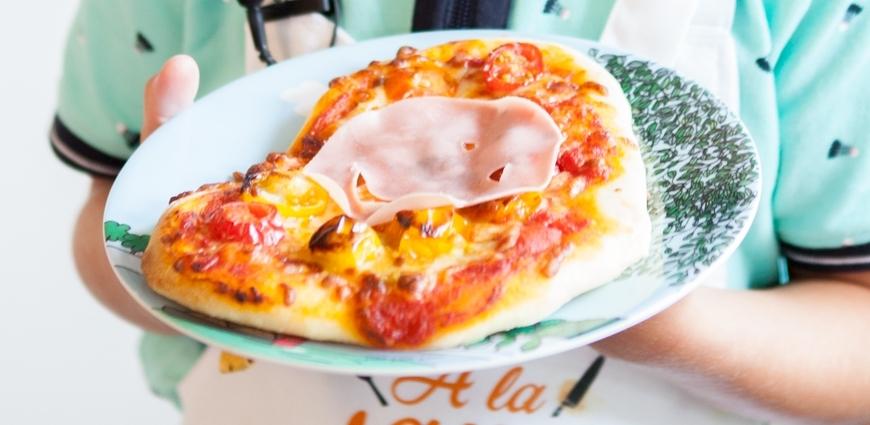 Pizza mozzarella - mortadelle